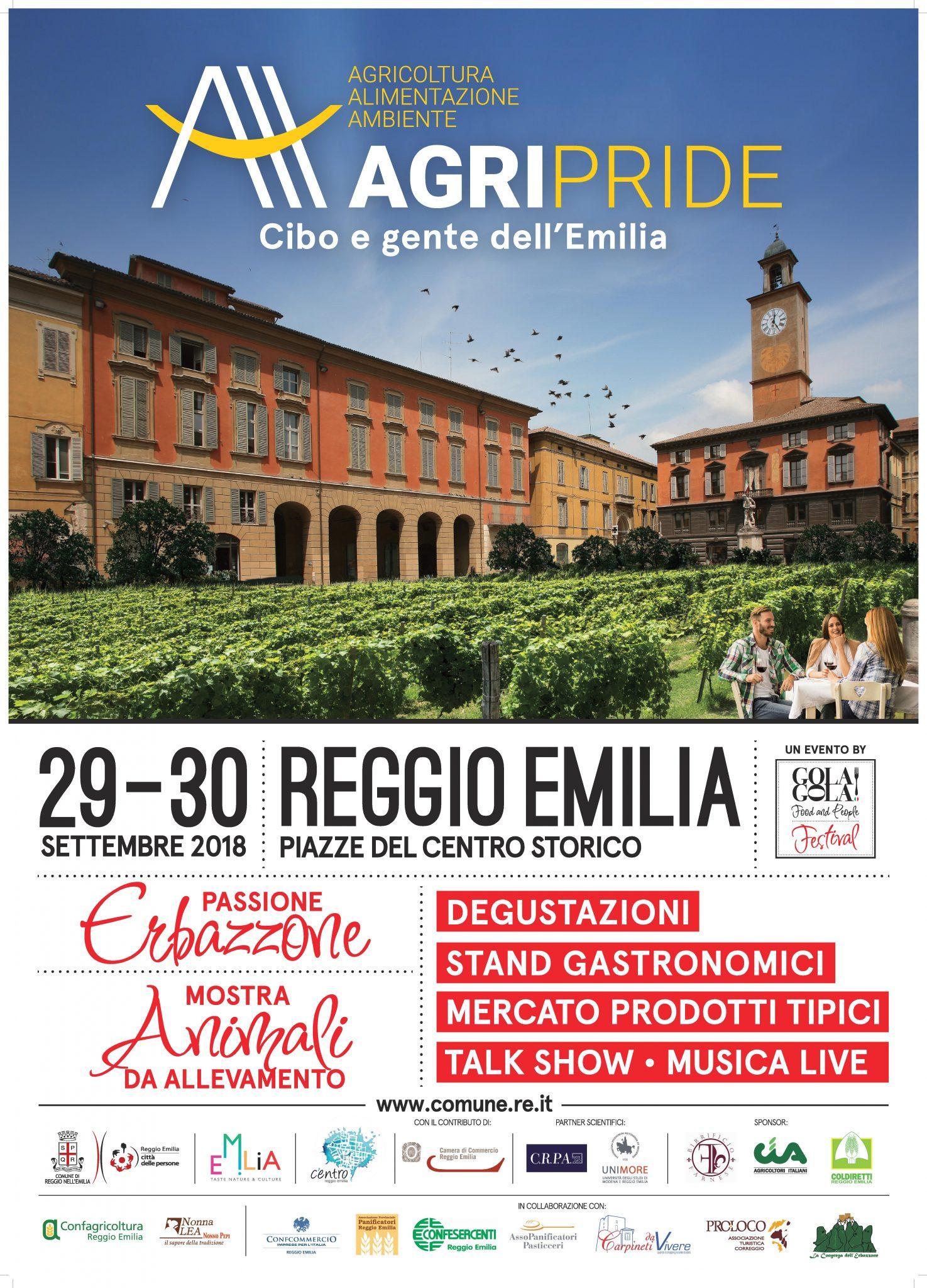 Agripride Reggio Emilia Passione Erbazzone