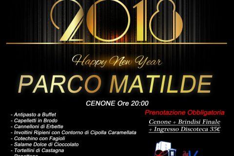 Capodanno 31 dicembre Parco Matilde
