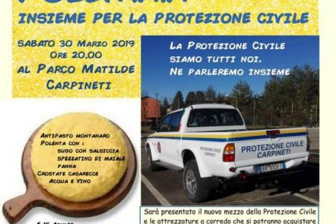 Polentata per protezione civile